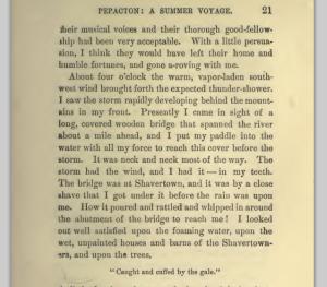 John Burroughs, Pepacton : A Summer Voyage