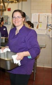 Julie Holbrook, Food Services Director at Keene Valley Central School